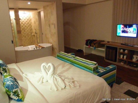 TS Suites Leisure Seminyak Bali: Huge space