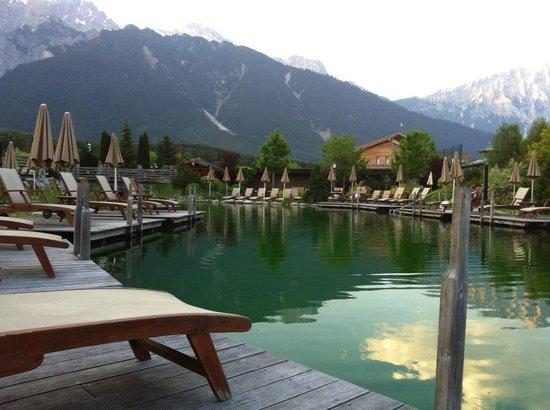Badesøen ved Alpenresort Schwarz