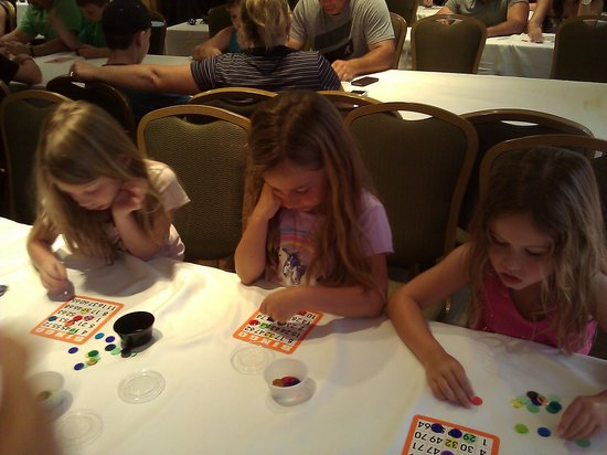 Orlando World Center Marriott: Saturday night bingo