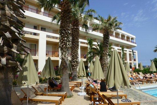 Rethymno Palace : cote piscine