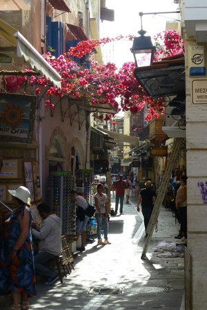 Rethymno Palace : ruelle à rethymnon