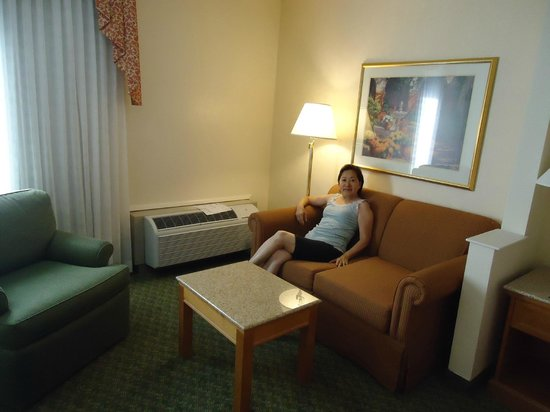 BEST WESTERN PLUS A Wayfarer's Inn and Suites: Vista interna do quarto