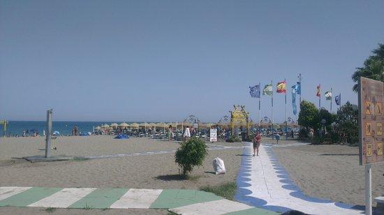 Playa El Bajondillo: Strand 2