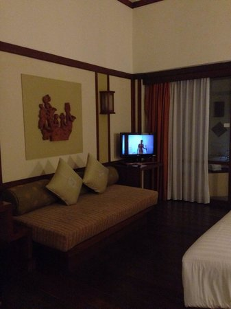 Incredible Tv And Couch Front Of The Bed Picture Of Novotel Bogor Bralicious Painted Fabric Chair Ideas Braliciousco