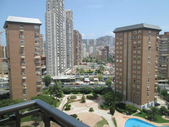 Sandos Monaco Beach Hotel & Spa: Uitzicht vanaf de kamer