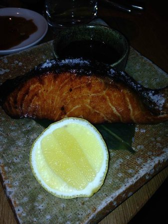 Roka Canary Wharf: Melt in your mouth salmon