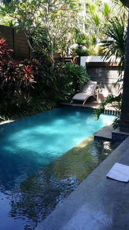 Le Jardin Boutique Villas, Seminyak: in-villa pool