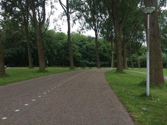 Spa Sport Hotel Zuiver: Парк