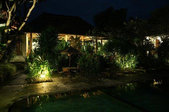 Sri Ratih Cottages : Área da piscina