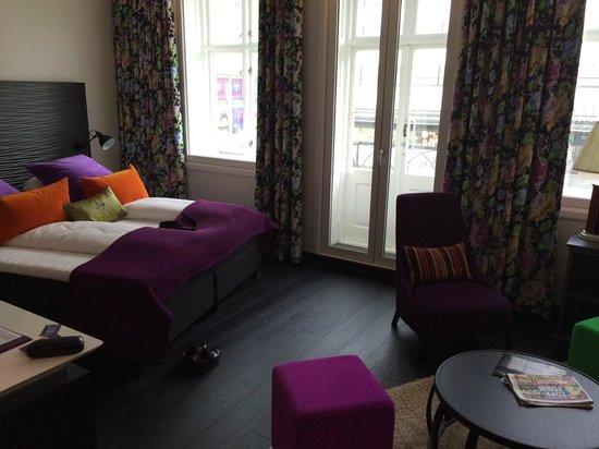 Hotel No 13: Delikate farger preger rommene.