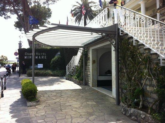 Grand Hotel Miramare: Arrival area