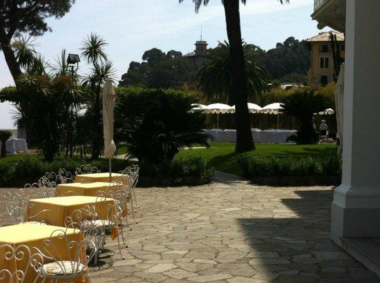 Grand Hotel Miramare: Terrasse