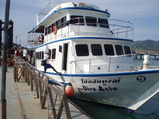 Dive Asia - Day Trips and PADI Courses: Safe boat, proper gear, and great staff