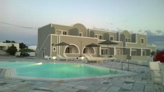 Calderas Dolphin Suites: Ansicht Terrassen Studios
