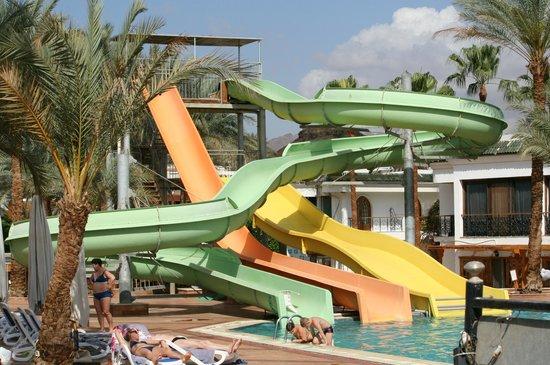 Dessole Seti Sharm Resort : горки