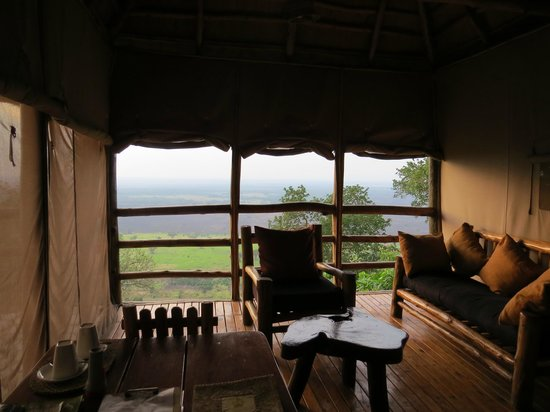Katara Lodge: Uitzicht vanuit kamer