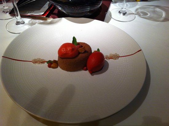 Chapter One: Chocolate Raspberry dessert