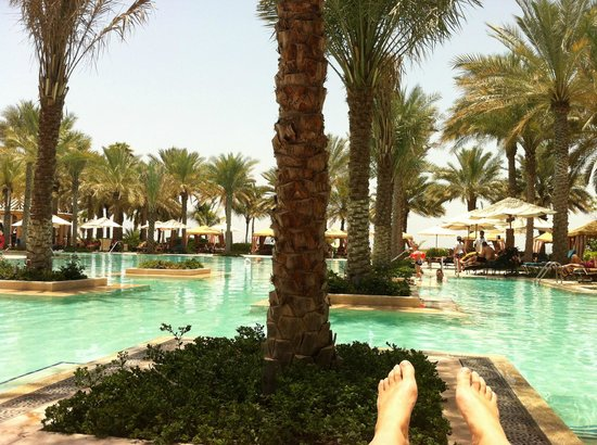The Palace at One&Only Royal Mirage Dubai: The main swimming pool