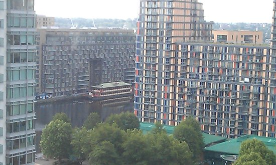 Hilton London Canary Wharf : view