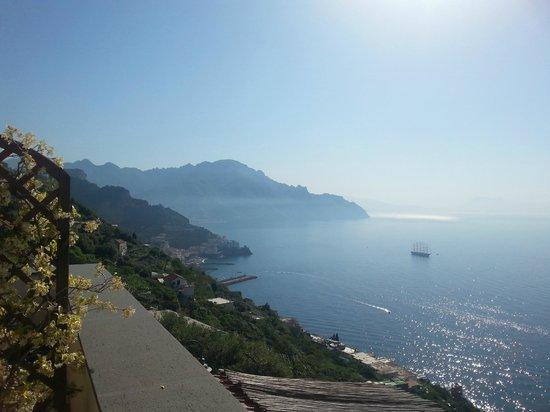 Hotel Villa Felice Relais: View from the room  balcony