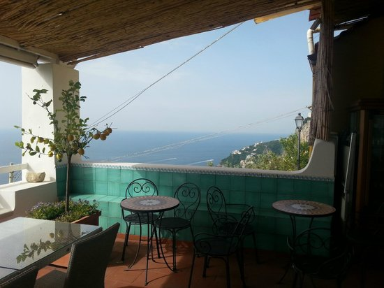 Hotel Villa Felice Relais: View from the balcony of the dining room