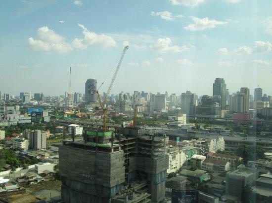 Grand Mercure Bangkok Fortune: Uitzicht vanaf kamer, Front