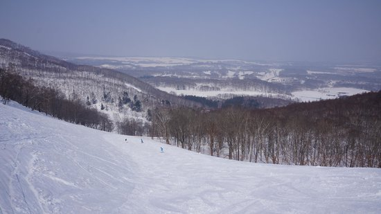 Niseko Freedom Inn: View from the ski resort