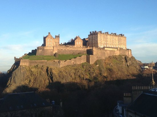 Waldorf Astoria Edinburgh - The Caledonian: amazing view from the room