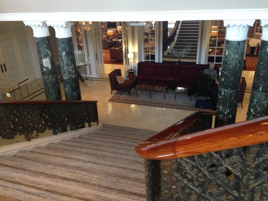 Waldorf Astoria Edinburgh - The Caledonian: grand staircase