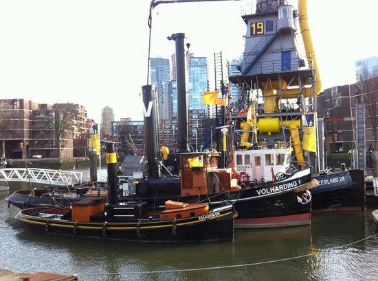 Maritime Museum Rotterdam: корабли