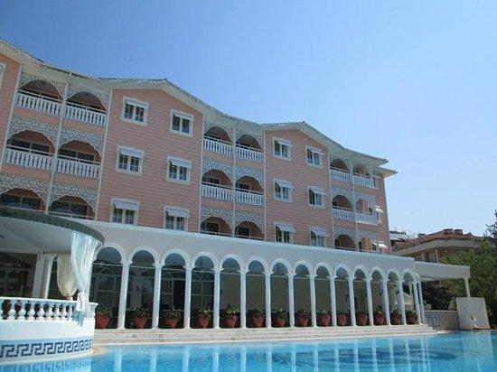 Pasha's Princess Hotel: Vom Pool aus