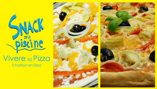 Venez gouter nos pizzas picture of snack de la piscine for Chatillon piscine