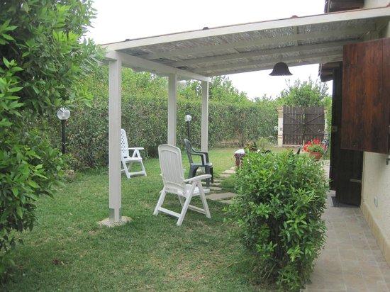 B&B Oasi a Vendicari : Giardino del monolocale