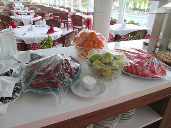 Pasha's Princess Hotel : Auch gesundes Obst