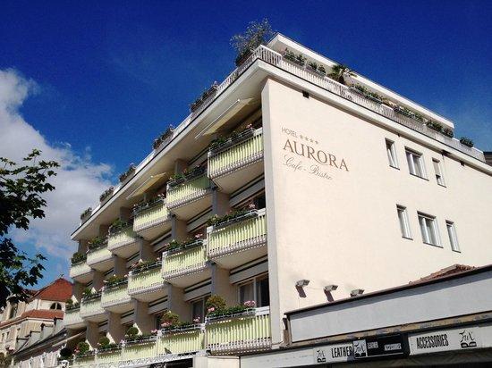 Hotel Aurora: Aussenansicht