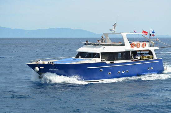 Bitez, Turkey: Aquapro's Dive Boat VERTIGO