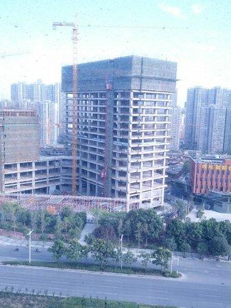 Aloft Zhengzhou Shangjie Hotel: Room view