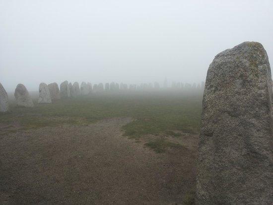 Fog at Ales Stenar