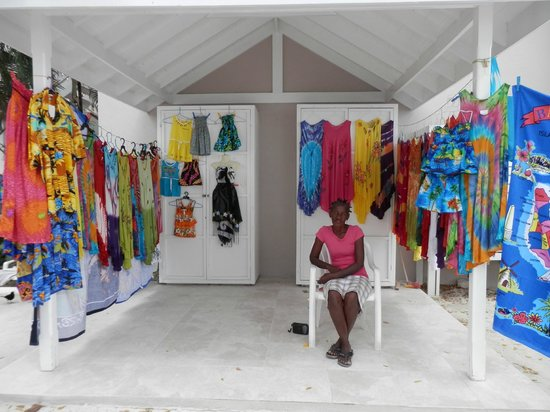 The Club, Barbados Resort and Spa: Celia sold beachwear and was so lovely every day