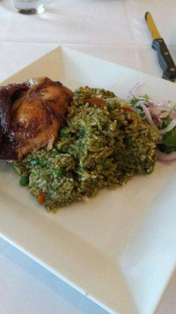 Inka Heritage: Pollo con arroz
