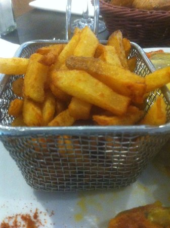 La Maison Blanche : Panier de frites