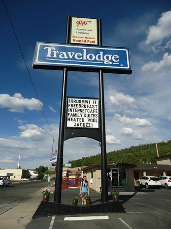 Travelodge Williams Grand Canyon: Placa do hotel