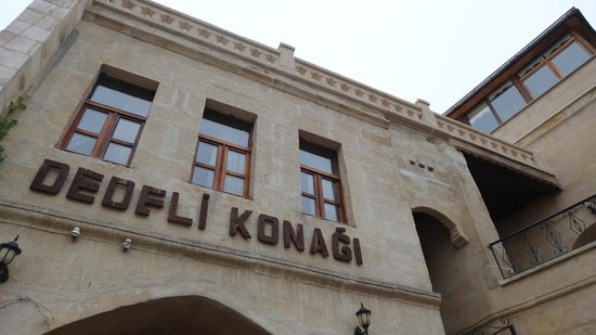 Dedeli Konak Cave Hotel : Signage