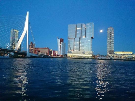 Thon Hotel Rotterdam: Million dollar view