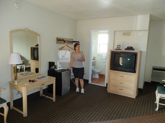 Travelodge Williams Grand Canyon : Vista interna do quarto