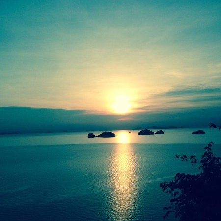Conrad Koh Samui : Beautiful sunset!