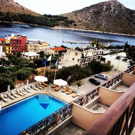 Hotel King Minos: View from room