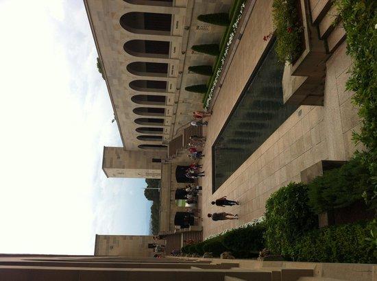 Australian War Memorial: View from above