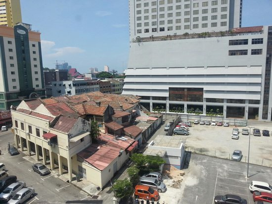 The Majestic Malacca: View from my room