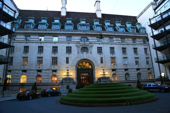 London Marriott Hotel County Hall: Ansicht von der Innenseite